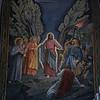 Mosaic depicting Christ arrest in the garden.