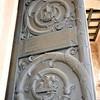 Doors leading inside the main church of Gethsemani.