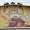 Outside facade of the Church of all Nations(Gethsemani) has its own beautiful mosaics.