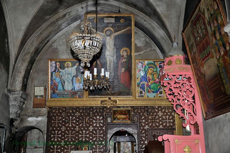 The Coptic Chapel.