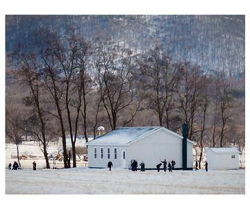 Amish Recess