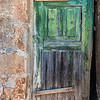 An Old  Colorful Wooden Door found in Castelo Rodrigo, Portugal