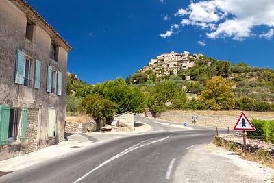 Village of Gordes, Vaucluse, Provence, France, 2012