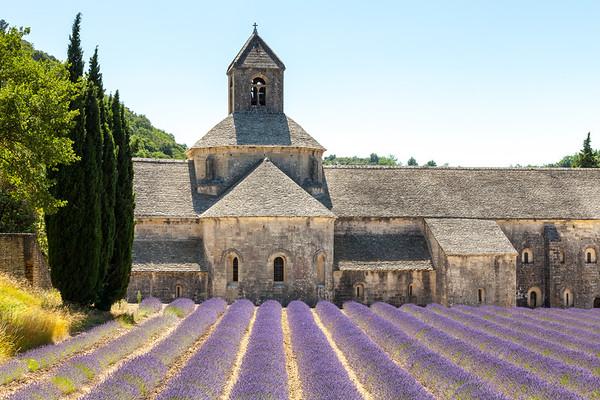Abbaye de Senanque, Gordes, Provence, France, 2013