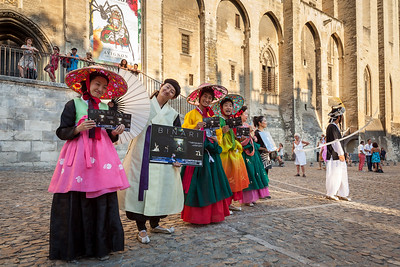 Performers, Avignon, Provence, France, 2013