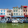 Harbour in small town Cassis, Provence, France
