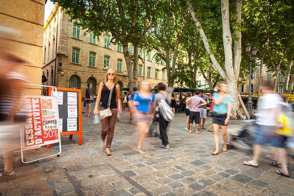 Aix-en-Provence, Provence, France, 2013