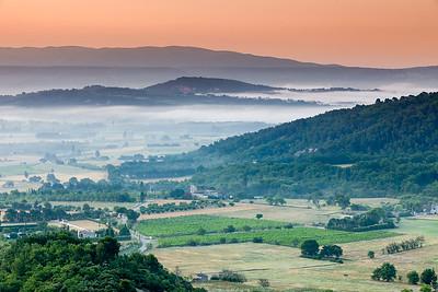 Sunrise, Provence, France, 2013