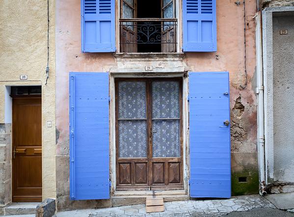 Facade, Provence, France, 2013