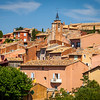 Roussillon village, Vaucluse region, Provence, France