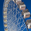 Ferris wheel in centre of Avignon during festival, Avigon, Provence, France