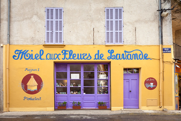 Shop, Valensole, Provence, France, 2013