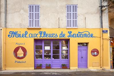 Shop, Valensole, Provence, France, 2013