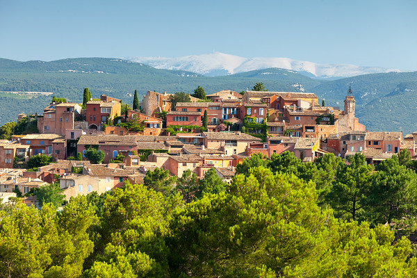 Roussillon and Mount Ventoux, Provence, France, 2013