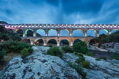 Pont du Gard, Provence, 2017