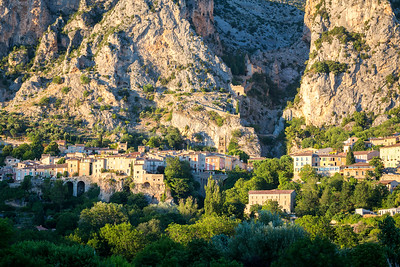 Moustiers-Ste-Marie, Provence, 2017