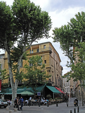 Last day in Aix - farewell to a lovely city - Day 10.