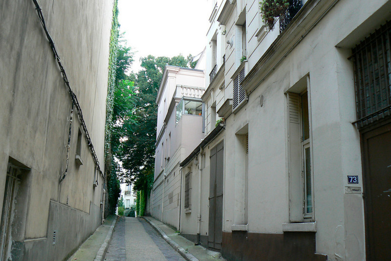 Paris 5eme - James Joyce's street