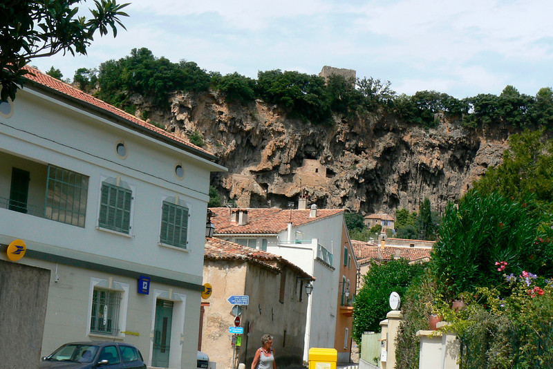 Cotignac (see caves and watchtower)