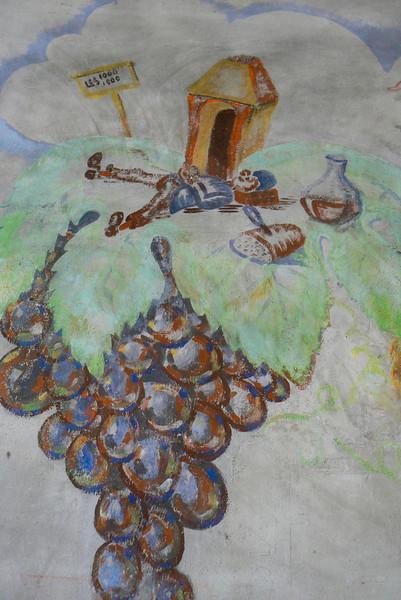 Mural detail