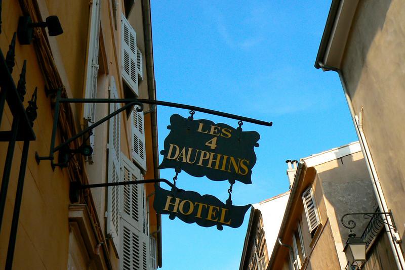 My hotel in Aix