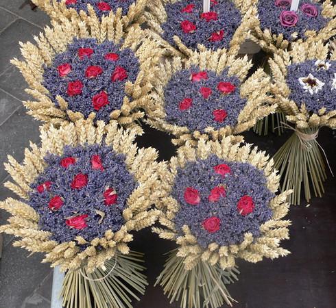 Lavender in the market at Gordes