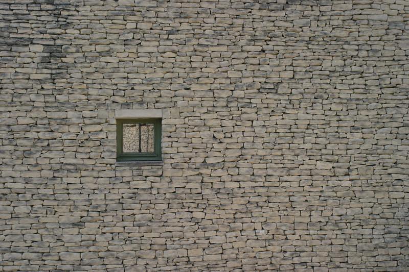 A wall in Gordes