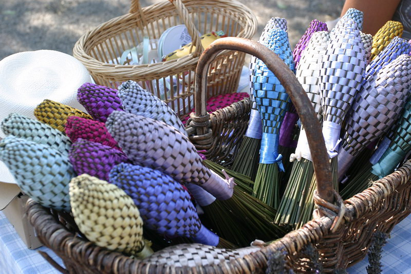 Lavender cones, to put in your clothes when in storage.