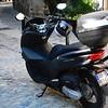 A Honda 125cc, Aiguèze