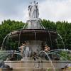 Fontaine des Quatre-Dauphins, Aix-en-Provence