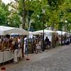 Art Fair Along Cours Mirabeau, Aix-en-Provence