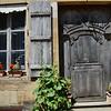 Shuttered Window and Door, Vézelay