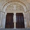 Entrance to Cathédrale St. Lazare, Autun
