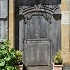 Wooden Doorway, Vézelay