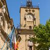 clocktower in Aix