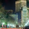 providence rhode island city streets at night
