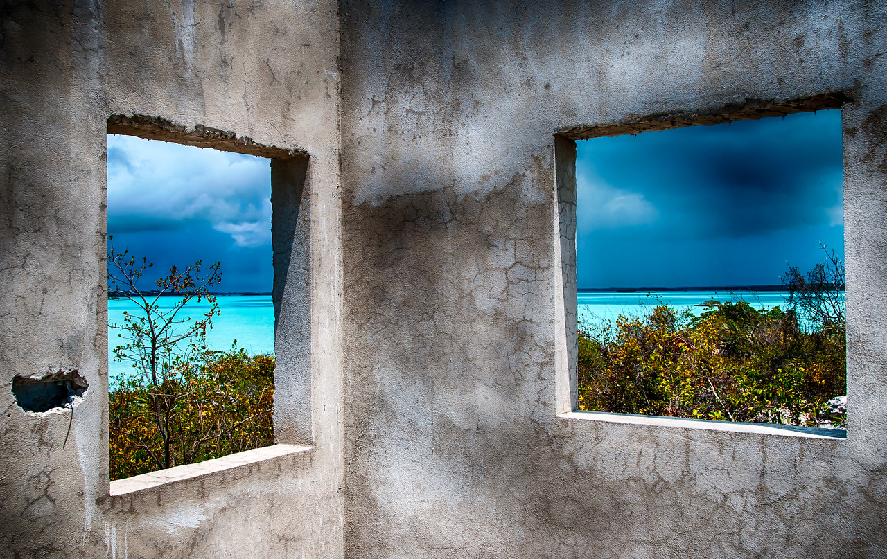"""""""Windows"""" on Chalk Sound and the Coming Storm"""