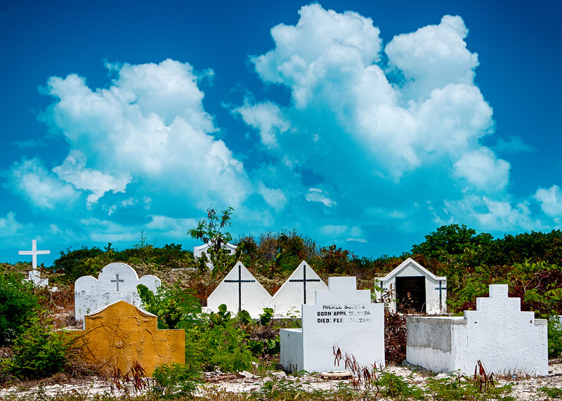 Cemetery in Five Cays Settlement