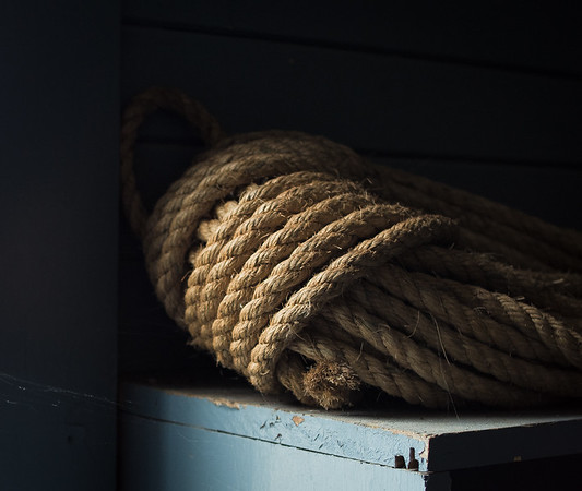 Rope in Boathouse