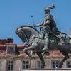 João I de Portugal, Praça da Figueira