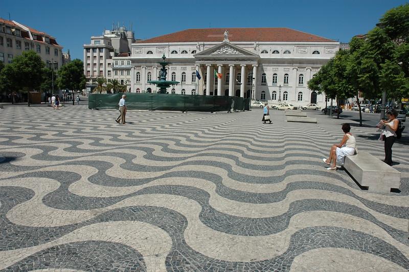 Lisboa / Rossio 08/2006   --- Foto: Jonny Isaksen