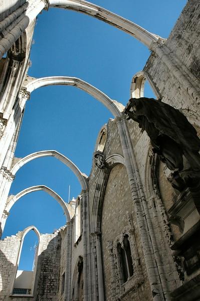 Lisboa / Igreja do Carmo 08/2006   --- Foto: Jonny Isaksen