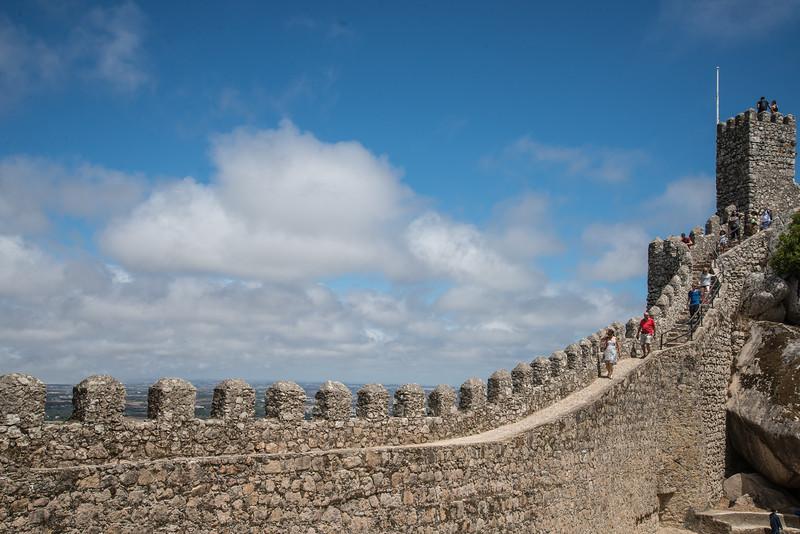 SINTRA, Castelo dos Mouros   30/07/2015   --- Foto: Jonny Isaksen