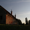 Old World charm at sunset  - many old structures appear to be abandoned with no certainity of being preserved or restored.