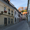 Quiet, clean streets in a sleepy town from long ago but still very much alive