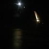 Moon on flight to Kona