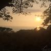 Sunset near Pu'uhonua O Honaunau