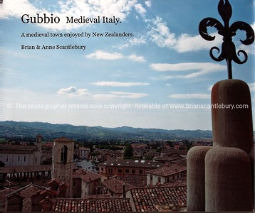 Gubbio, Medieval Italy. See what what saw and enjoyed in this wonderful walled town in Umbria. A great collection of 90 + images. Available in hard cover, with dust jacket or soft cover versions. The Dust Jacket version has a little more info and images. A great record of the city, or a gift that reflects the region and town. Preview this book; http://www.blurb.com/bookstore/detail/2314371