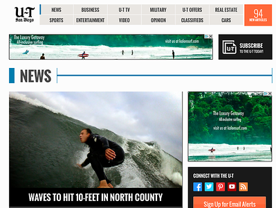 San Diego Union Tribune, June 4th 2013.