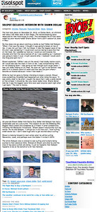 Solspot interview and photos of Big Wave World Record Holder Shawn Dollar: June 1st, 2013.